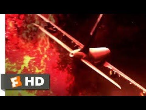 Airplane vs Volcano (2014) lnto A Burning Ring of Fire Scene (1/10) Movieclips