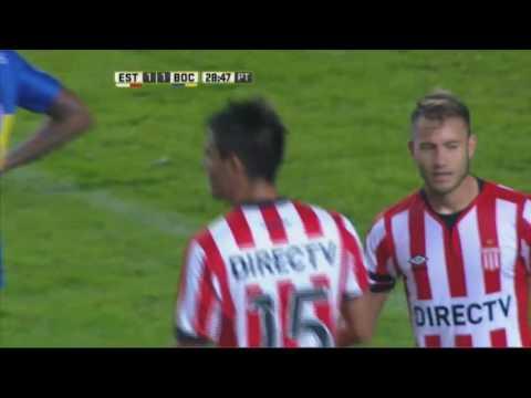 Salvó Sara. Estudiantes 1 - Boca 1. Fecha 15. Primera División 2016.