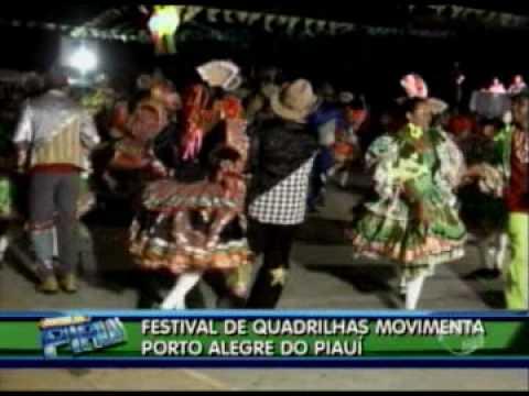 Festival de quadrilhas movimenta município Porto Alegre do Piauí