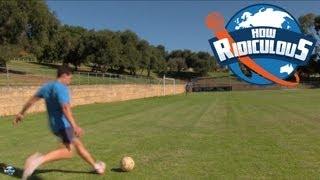 Football (Soccer) Trick Shots - How Ridiculous