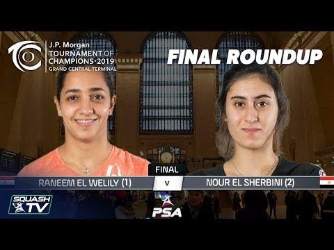 Squash: El Welily v El Sherbini - Tournament of Champions 2019 Final Roundup