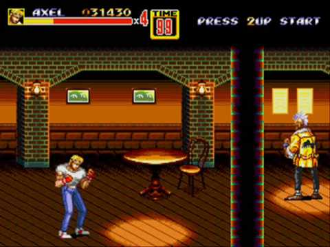 streets of rage 2 megadrive review