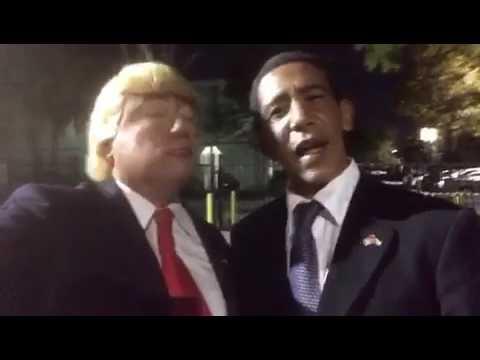 Trump y Obama hablan de Oficialmente Gay