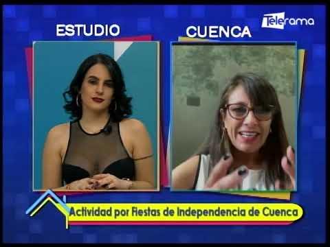 Actividad por fiestas de independencia de Cuenca