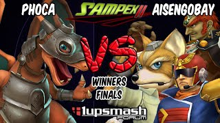 SAMPEX II Project M 3 5 Winners Final – Phoca [Charizard] vs Aisengobay [Fox/Capitão/Ganondorf]