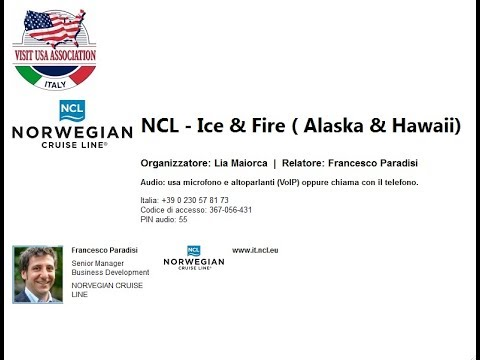 Video NCL - Ice & Fire ( Alaska & Hawaii) (21-3-2019)