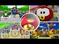 Evolution of Trophy Ceremonies in Mario Kart Games (1992-2018)