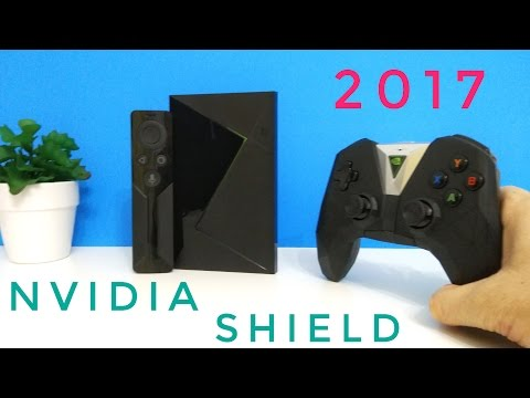 New NVIDIA Shield Android TV 2017 REVIEW