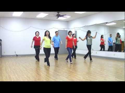 Wagon Wheel Rock – Line Dance (Dance & Teach in English & 中文)