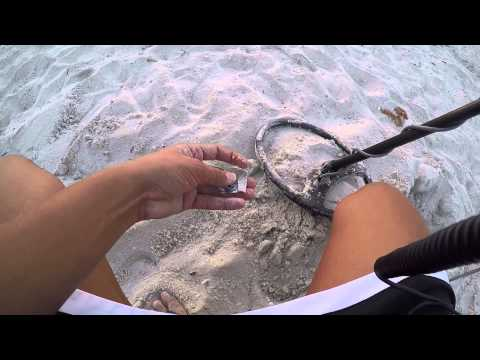 Beach Metal Detecting for Coins and Jewelry