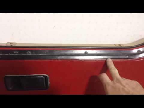 how to adjust yj half doors