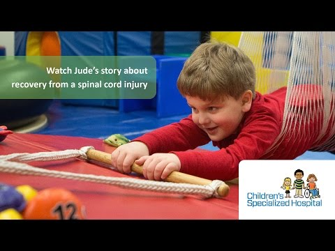 Jude's Story - Spinal Cord Injury - Children's Specialized Hospital