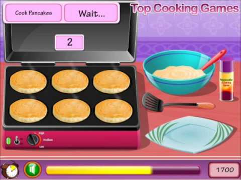 Mini Pancakes Gameplay For Delicious Fun-Cooking Games-Girls Games