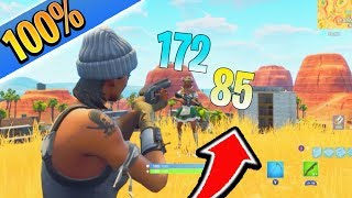 How to Have 100% Shotgun Aim Fortnite Tips and Tricks! How to Aim Better in Fortnite Ps4/Xbox Tips!