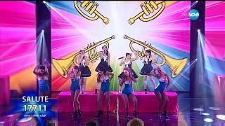 Salute videoklipp Candyman (Christina Aguilera Cover) (On The X-Factor Bulgaria) (Live)
