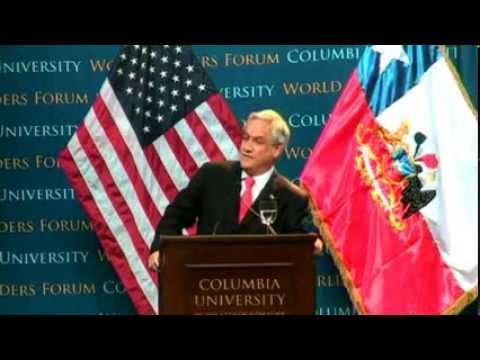 World Leaders Forum: Sebastián Piñera, President of the Republic of Chile