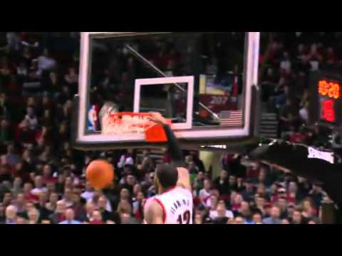 Beautiful Felton to Aldridge alley-oop dunk against the Heat