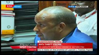 HAPPEINING NOW: Ex-Deputy NYS Boss Harakhe before NYS Theft Probe