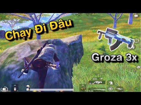 PUBG Mobile   Lại Nhặt Groza - Bo Cuối Gặp 2 Team Chạy Bo Như Vịt - Thời lượng: 17:49.