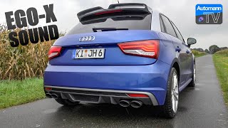 6. Audi S1 Sportback EGO-X - pure SOUND (60FPS)
