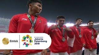 Video PECAH REKOR NASIONAL! Tim Estafet 4X100 M Indonesia (Fadlin, Zohri, Eko Bayu) Sumbang Medali Perak MP3, 3GP, MP4, WEBM, AVI, FLV Januari 2019