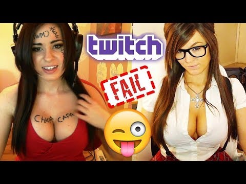Twitch Girl Live Stream Fail Compilation 2017...funny videos !!!