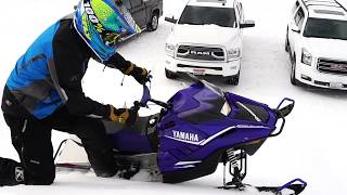 2. We Ride the 2018 Yamaha SnoScoot 200 4-stroke