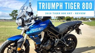 7. 2018 Triumph Tiger 800 XRT Motorcycle Review