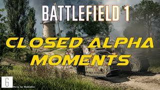 Battlefield 1 - Closed Alpha moments