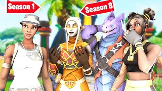 So i Pretended to be Stuck in Season 1 with RECON EXPERT... and they were CONFUSED - Fortnite