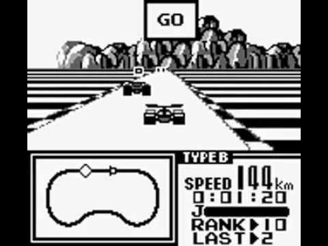 F-1 Race Game Boy