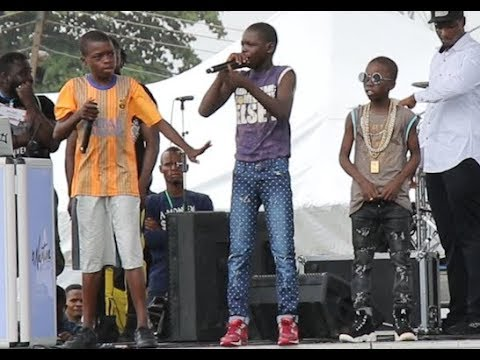 Download Rap Competition! Meet The 3 little Most Talented Rapper At Agege As They Showcase Themselves
