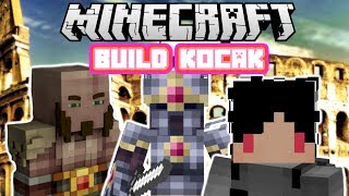 Video Minecraft Indonesia - Build Kocak (41) - Arena Colosseum! MP3, 3GP, MP4, WEBM, AVI, FLV Februari 2018