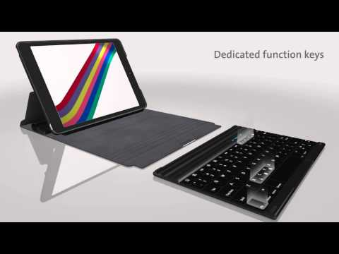 KeyFolio Exact Plus- Thin Folio with Keyboard for iPad Air ($129.99)
