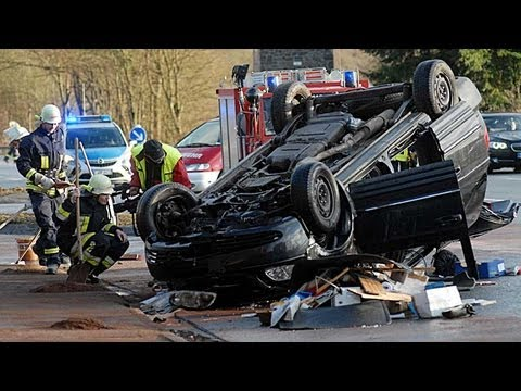B 252: 73-Jähriger bei Unfall schwer verletzt