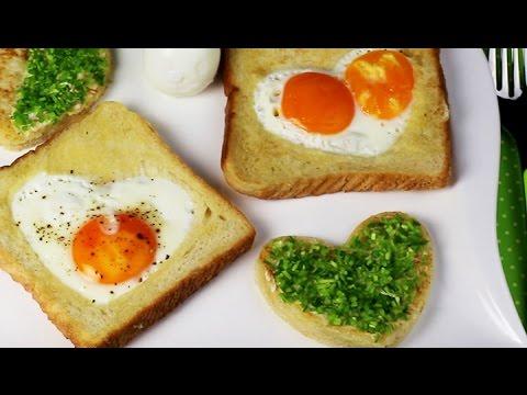 HERZ-EI FRÜHSTÜCKSTOAST | easter breakfast