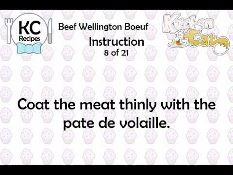 Video of KC Beef Wellington Boeuf