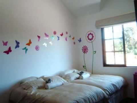 Murales adhesivos infantiles videos videos for Decoracion de paredes infantiles