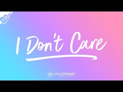 I Don't Care (Acoustic Guitar Karaoke) Ed Sheeran & Justin Bieber