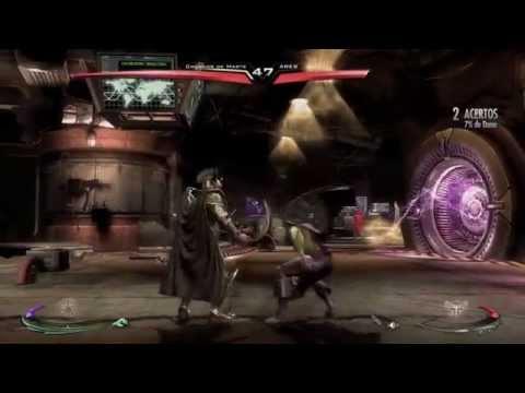 Injustice: Gods Among Us Ultimate Edition gameplay CAÇADOR DE MARTE VS ARES Em Português PT-BR