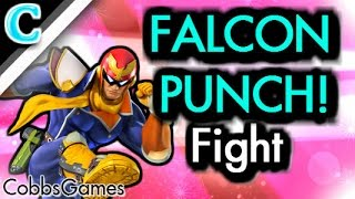 Captain Falcon ditto turns into a Falcon Pawnch gentleman duel