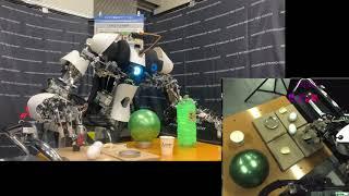 三菱電、ロボ遠隔操作技術 つかむ力を色で伝達