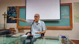 Rediscovering The CCR Roots talk by Fr. Fio Mascarenhas SJ (Part 1)