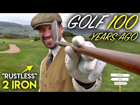 Golf....100 YEARS AGO!