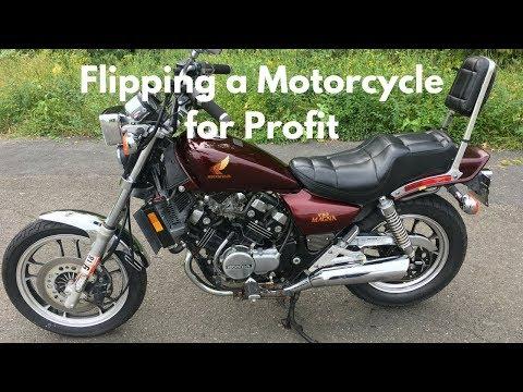 Honda Magna V30 Flip - Intro & Fuel Pump (видео)