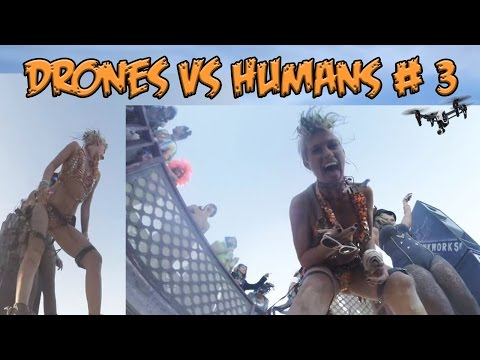 Top 5 Drones vs Humans # 3