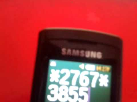 comment demonter un samsung sgh-e250