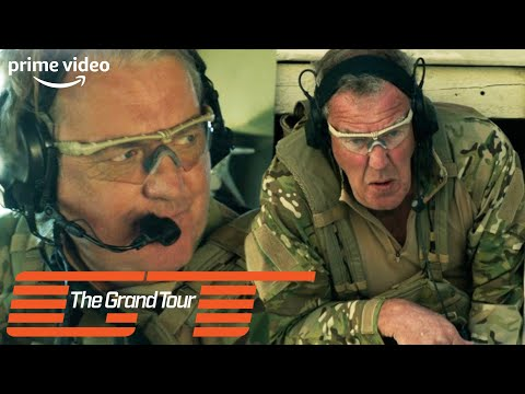 Jeremy Clarkson Gets Stuck In a Window During SAS Training | The Grand Tour | Prime Video