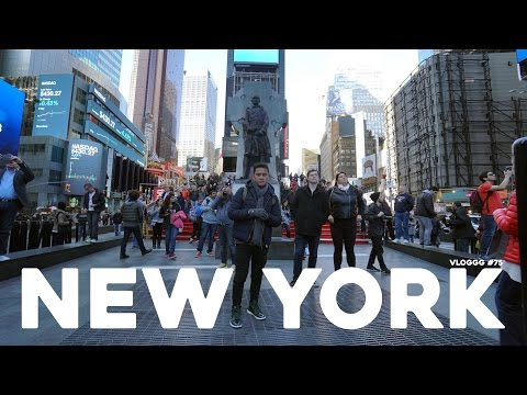 VLOGGG #75: NEW YORK! (feat. Dian Sastro)
