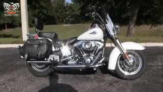 8. Used 2012 Harley Davidson FLSTC Heritage Softail Classic